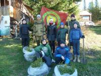 Экологический субботник в Лужбе