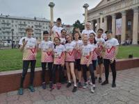 Легкоатлетический забег ЕВРАЗа «Дай пять!»