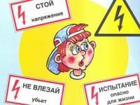Предупреждение детского электротравматизма